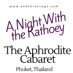 A Night With The Kathoey